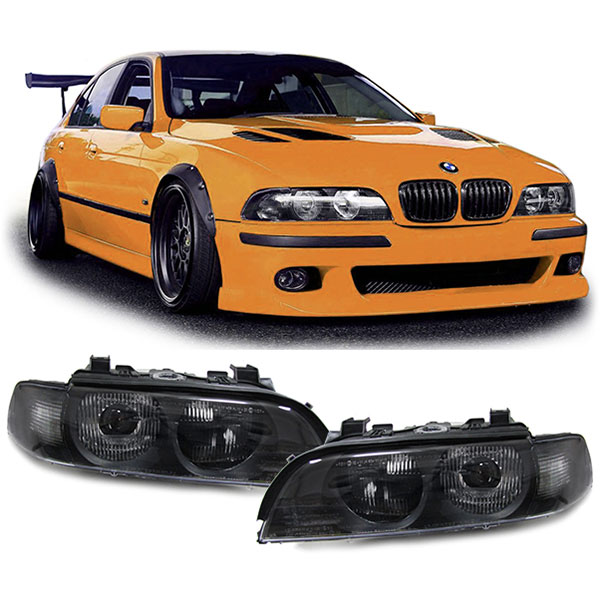 bmw e39 95 00 d2s xenon koplampen smoke hl automotive. Black Bedroom Furniture Sets. Home Design Ideas